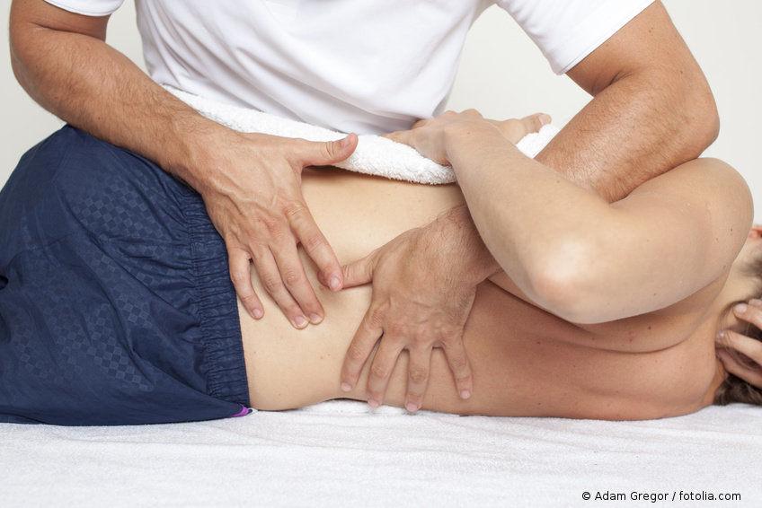 Medizinische Massage Wuppertal: Chronische Rückenschmerzen