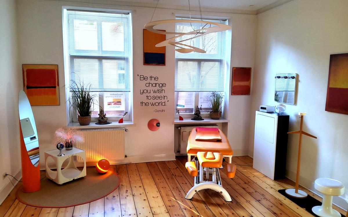Massage Wuppertal - Der Raum